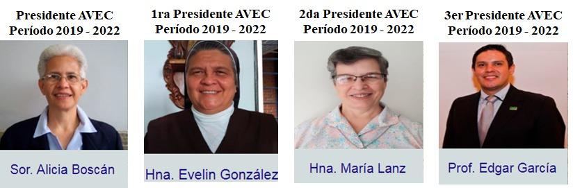 La Asamblea de la Asociación Venezolana de Educación Católica (AVEC) eligió a la nueva junta directiva para el periodo 2019-2022