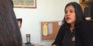 Yamely Martínez directora del programa Escuelas de Fe y Alegría