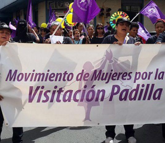 movimiento Visitación Padilla marcha contra los feminicidios
