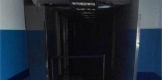Pasillo del hospital Adolfo Pons