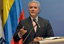 presidente de Colombia Ivan Duque
