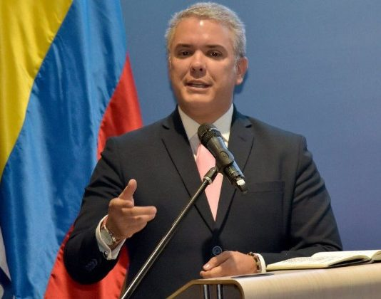presidente de Colombia Ivan Duque