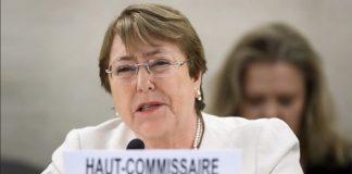 Michelle Bachelet - Alta Comisionada de Derechos Humanos