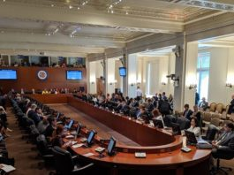 Reunión para discutir el TIAR, OEA
