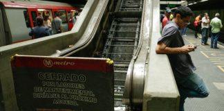 Metro de Caracas abandonado