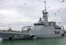El guardacostas Naiguatá patrullaba al norte de la isla La Tortuga cuando un buque de pasajeros chocó contra él, hundiéndolo | Foto: archivo