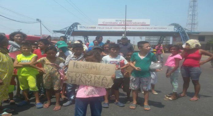 Protesta en Guajira