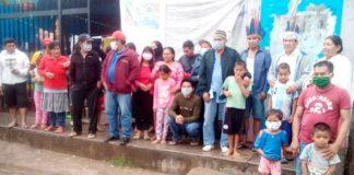 Más de un millar de indígenas de distintas etnias quedaron varados y sin trabajo en varias ciudades de Perú | Foto: diario La República