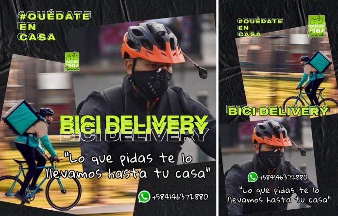 repartidores en bici