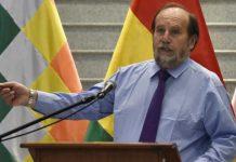 El ahora ex ministro de salud Marcelo Navajas es acusado de corrupción. | Foto: AFP