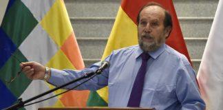 El ahora ex ministro de salud Marcelo Navajas es acusado de corrupción.   Foto: AFP
