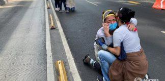 Ciudadanos mexicanos vivieron momentos de tensión tras el fuerte sismo de 7.5 en el estado de Oaxaca | Foto: Reuters
