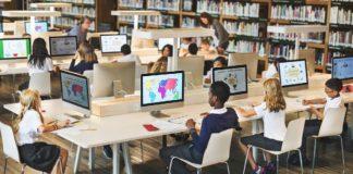 El gobierno de Panamá prometió equipos y acceso a banda ancha para estudiantes y docentes, pero no ha cumplido   Foto referencial