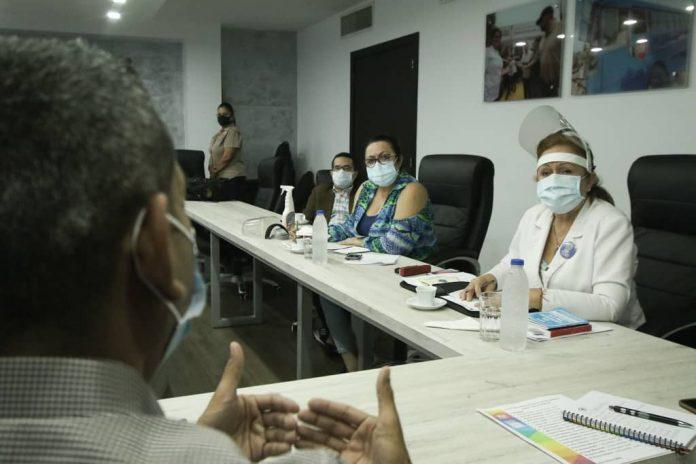 reunión con los médicos