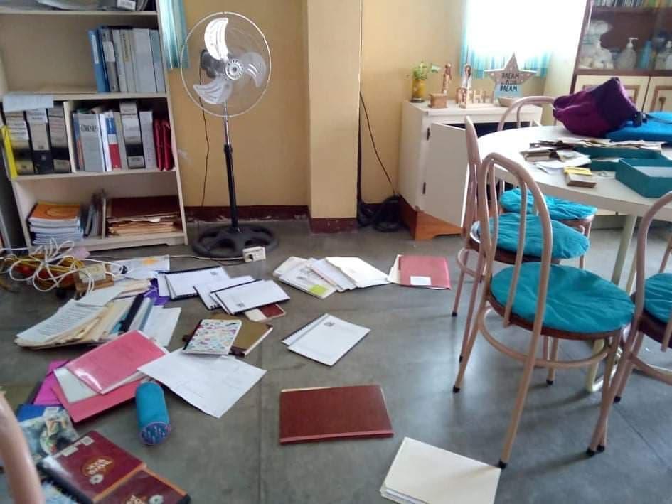 Robos y vandalismo Escuelas Fe y Alegría San Luis Cumaná
