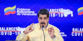 Maduro da reporte de la flexibilización