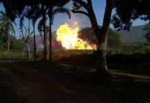 explosión Anzoátegui