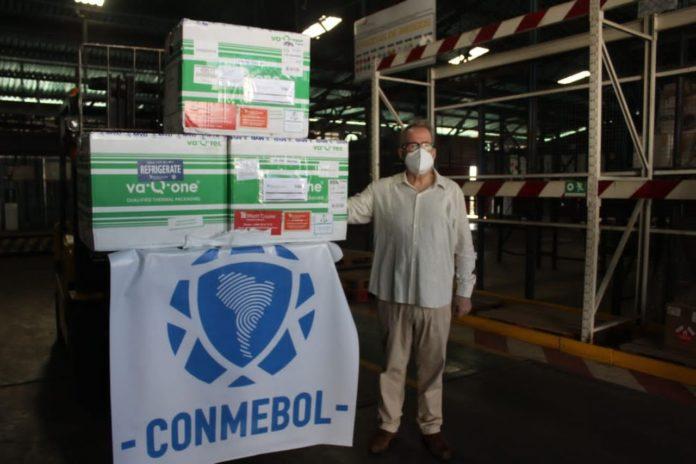 vacunas futbol Conmebol