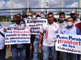 Fuerza laboral trabajadores Guayana