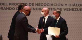 Diálogo en México entre la oposición y el Gobierno de Venezuela