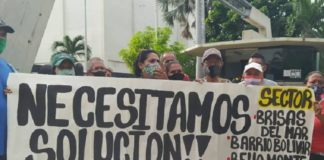 Anzoatiguenses denuncian que Cantv dejó trabajos inconclusos