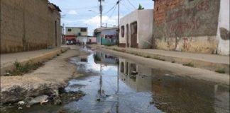 Aguas servidas en Cumaná