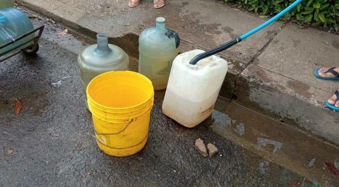 Crisis de agua potable