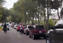 Colas por gasolina Táchira