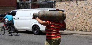 Crisis de gas doméstico Tucupita