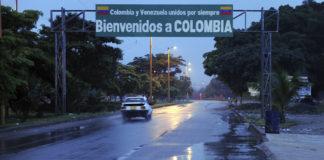 Vista de un acceso fronterizo desde el lado venezolano.