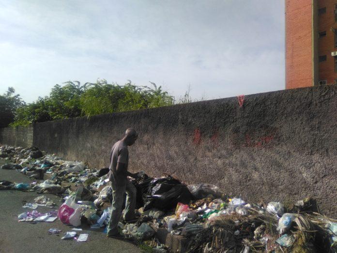 Calles de Maturín repletas de basura