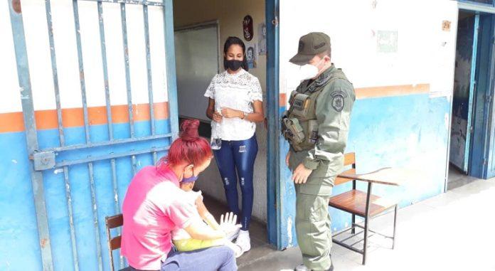 Simulacro electoral Monagas