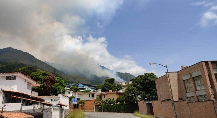 Incendio en Terrazas del Ávila, Caracas