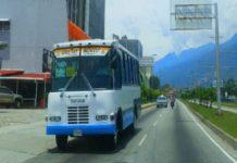 Transporte Mérida sin combustible