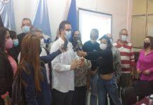 Estudiantes de la UPTLL Juan Ramírez